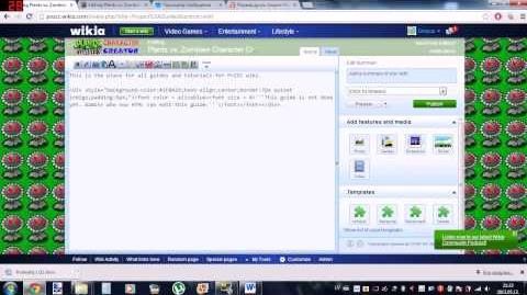 Wikia project namespace page creation