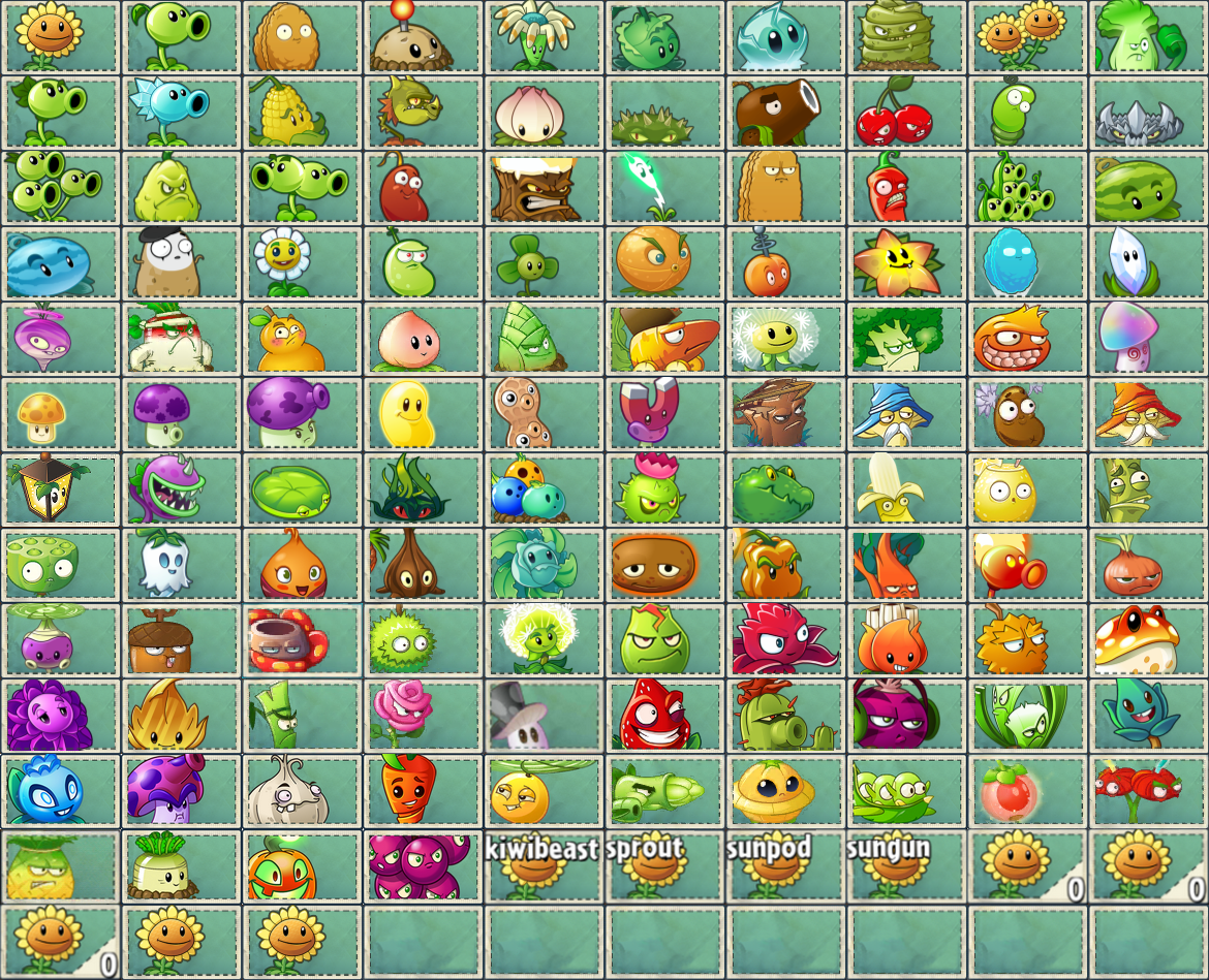 image all pvz2 and pvz chinese plant seed packets png plants vs