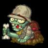 Paleontologist Zombie PvZH v2