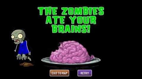 Plants vs Zombies 2 Custom Music - THE ZOMBIE ATE YOUR BRAIN!! Night Sail