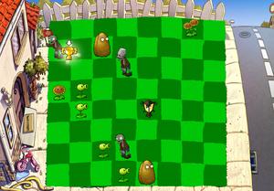 Plants Win Chess