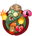 Fire Thrower Zombie (PvZH)