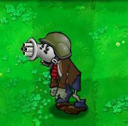 Gatling spike pea zombie