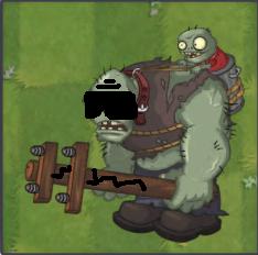 Blind Gargantuar | Plants vs  Zombies Character Creator Wiki