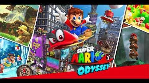 Forgotten Isle 1 - Cappy Rescue ( lost kingdom ) - Super Mario Odyssey Music