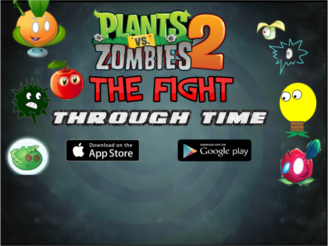 The Fight Through Time | Plants vs  Zombies Character