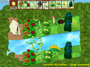 PvZcc Hill Screenshot