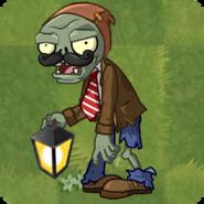 Lantern Zombie Grass
