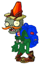 HD Adventurer Conehead Zombie