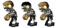 Prowler Zombie (concepts)