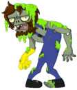 Radioactive Worker Zombie