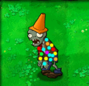 Painted Conehead Zombie