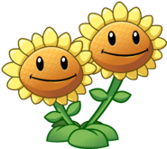 Image - Twin Sunflower HD.png | Plants vs. Zombies
