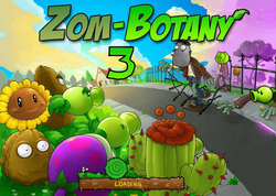 ZomBotany 3 Loading Screen