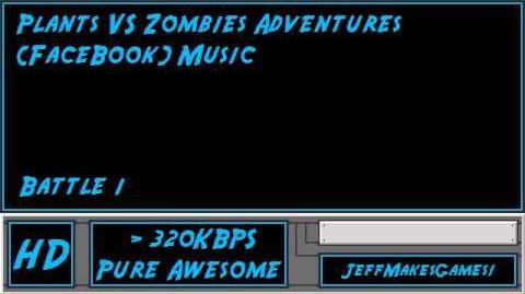 Plants VS Zombies Adventures Music - Battle 1