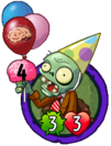 Birthday Flag Zombie (PvZH)