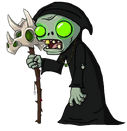 Necromancer Zombie (Flag Zombie's Version)