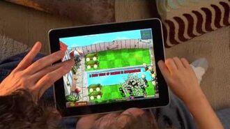 PvZ iPad Multi-Touch Fun