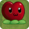Heart berry by leo with background