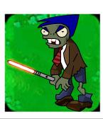 Lightsaber Zombie