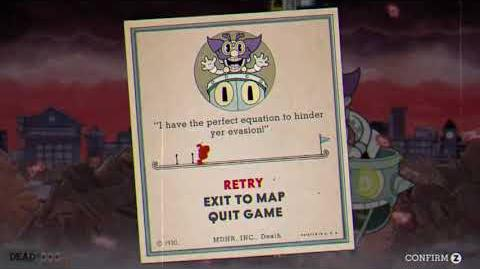 "Cuphead - ""Junkyard Jive"" Game Over Screen Version"