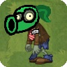 Peashooter Mask Zombie