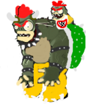 Bowgantuar and Bowser Jr. Imp