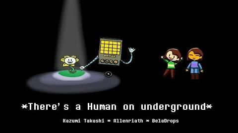 There's a human on underground【UNDERTALE】