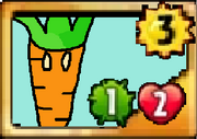 Gravitation carrot card