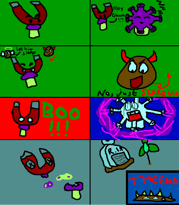 Blover Komiks Gloomy Death