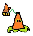 Roadcone-pult drawing