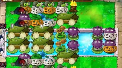 Plants vs. Zombies 6 Cob Cannon Strategy by Noah