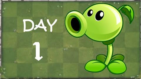 -Android- Plants vs. Zombies 2 - Player's House Day 1 (Tutorial)