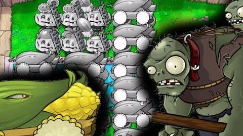 Plants vs. Zombies Survival Endless - The Ultimate Cob Cannon Strategy