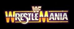 Original WrestleMania logo