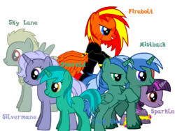MLP FF characters (named)