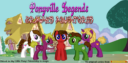 Ponyville Legends logo