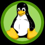 Linux-button