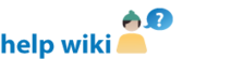 HelpWiki-wordmark