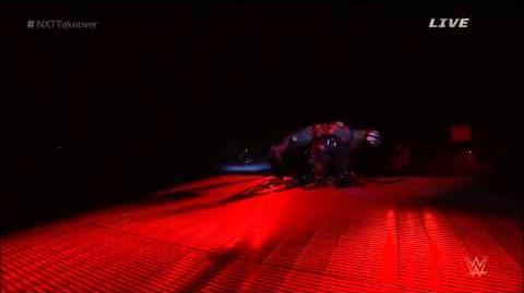 Finn Balor Entrance at NXT Takeover R Evolution