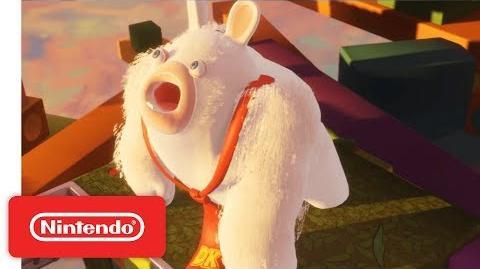 Mario Rabbids Kingdom Battle - World 1 Battle & Boss Demonstration - Nintendo E3 2017