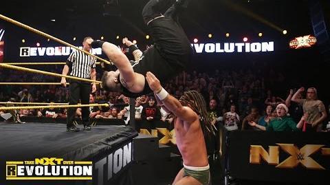 Kevin Owens vs. CJ Parker NXT TakeOver R Evolution, Dec