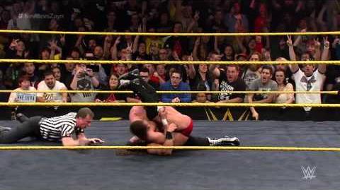 Adrian Neville vs. Sami Zayn - NXT Championship Match NXT TakeOver R Evolution, Dec