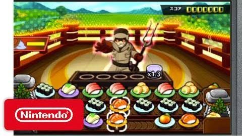 Sushi Striker The Way of Sushido - Demonstration - Nintendo E3 2017