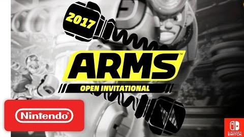 2017 ARMS Open Invitational Teaser - Nintendo Switch