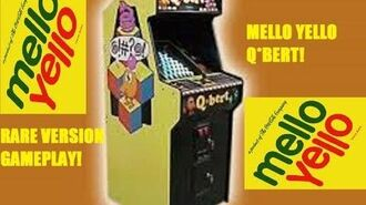 RARE Mello Yello Version of Q-Bert All Access Gaming
