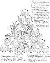 Q*bert concept pyramid