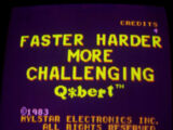Faster Harder More Challenging Q*bert