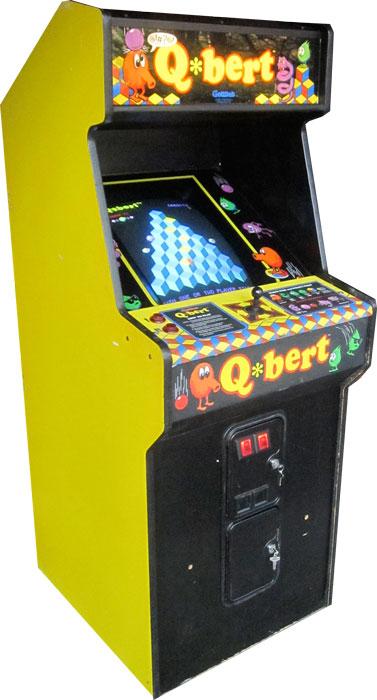 the qbert arcade machine