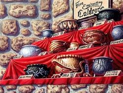 Cauldron Shop by Bob Petillo
